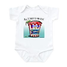 Credit Crunch Infant Bodysuit