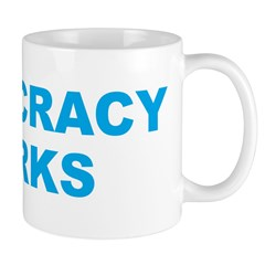 Democracy Works (Obama) Mug