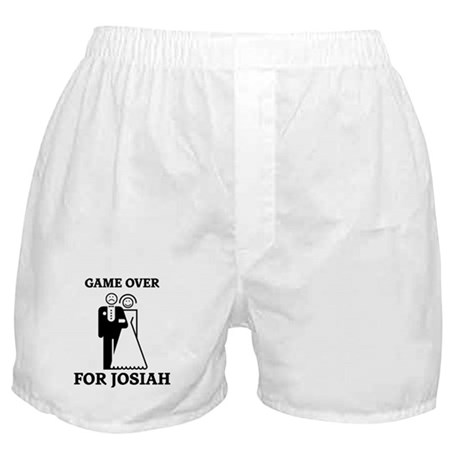 Game over for Josiah Boxer Shorts