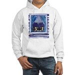 Australian Shepherd Blue merl Hooded Sweatshirt