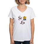 Sir Lisa Women's V-Neck T-Shirt