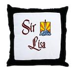 Sir Lisa Throw Pillow