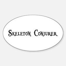 Skeleton Conjurer Oval Decal