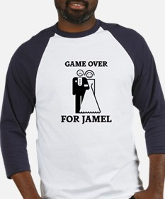 Game over for Jamel Baseball Jersey
