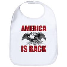 Obama Wins America Bib