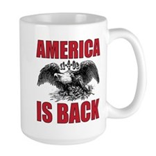 Obama Wins America Mug