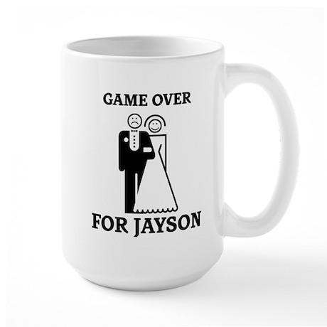 Game over for Jayson Large Mug