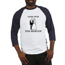 Game over for Marlon Baseball Jersey