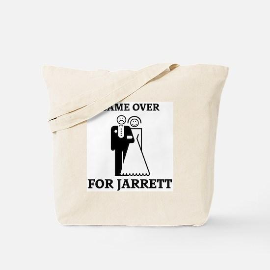 Game over for Jarrett Tote Bag