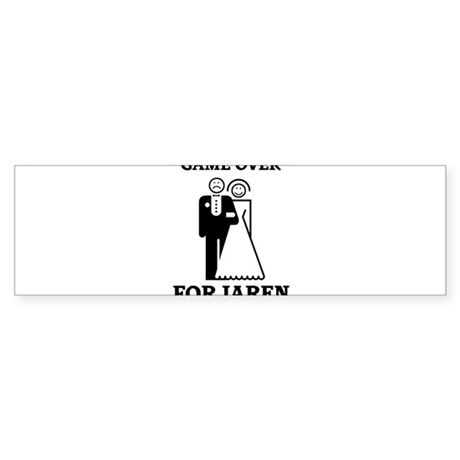 Game over for Jaren Bumper Sticker