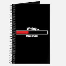Writer Loading Bar Journal