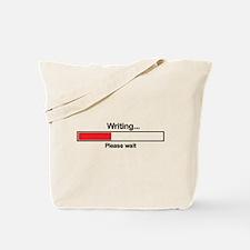 Writer Loading Bar Tote Bag