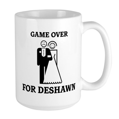 Game over for Deshawn Large Mug