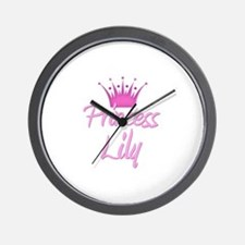 Princess Lily Wall Clock