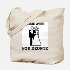 Game over for Deonte Tote Bag