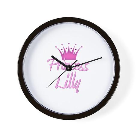 Princess Lilly Wall Clock