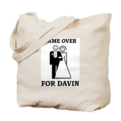 Game over for Davin Tote Bag