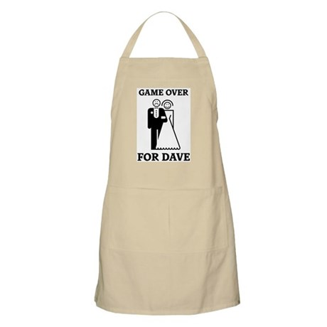 Game over for Dave BBQ Apron