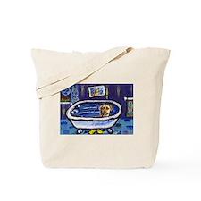 Rhodesian Ridgeback bath Tote Bag