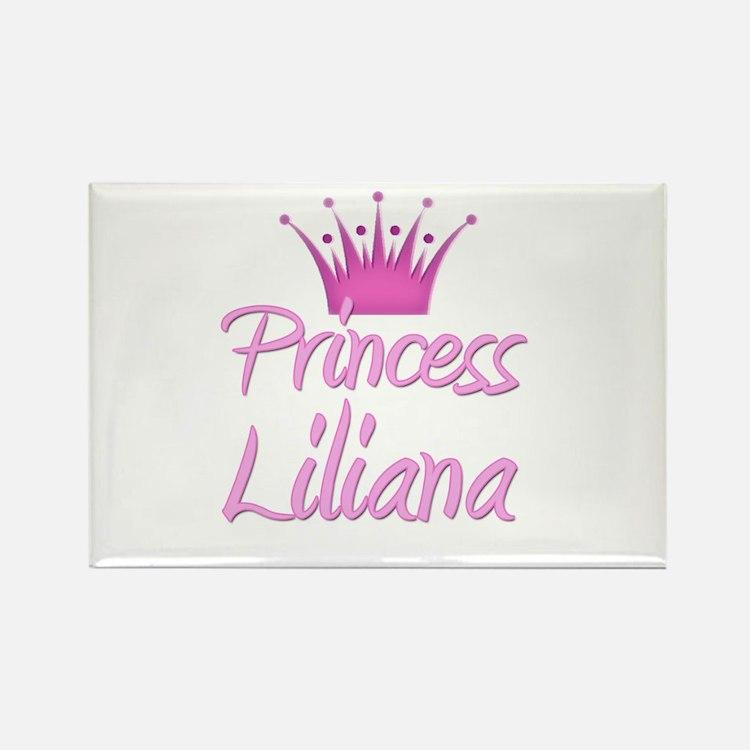 Princess Liliana Rectangle Magnet