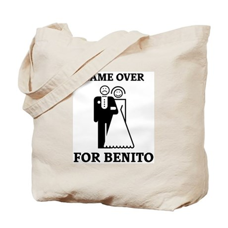 Game over for Benito Tote Bag