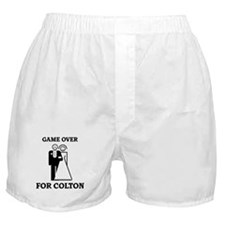 Game over for Colton Boxer Shorts