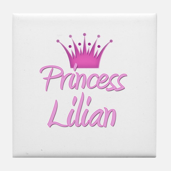 Princess Lilian Tile Coaster