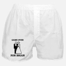 Game over for Brian Boxer Shorts