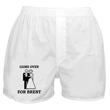 Game over for Brent Boxer Shorts