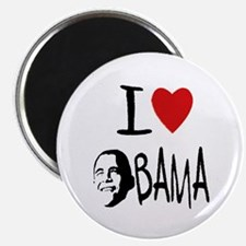 Cute I love obama Magnet