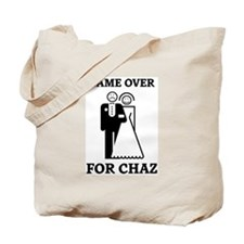 Game over for Chaz Tote Bag