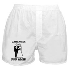 Game over for Amir Boxer Shorts