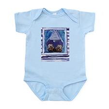 TIBETAN TERRIER window Infant Creeper