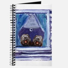 TIBETAN TERRIER window Journal