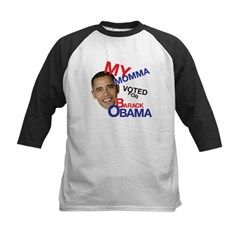 MY MOMMA VOTED FOR OBAMA Tee
