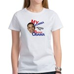 MY MOMMA VOTED FOR OBAMA Women's T-Shirt