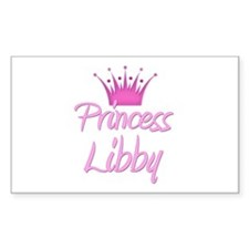 Princess Libby Rectangle Decal
