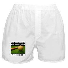 SNOOKER Boxer Shorts