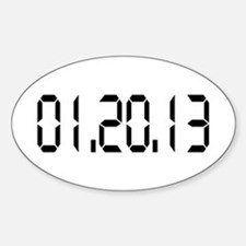01.20.13 Oval Decal