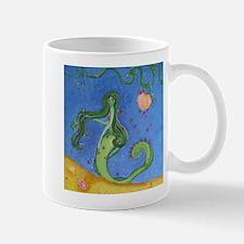 Hand Painted Mermaid Mug