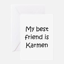 Funny My best friend Greeting Card