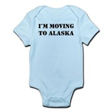 Moving to Alaska Infant Bodysuit