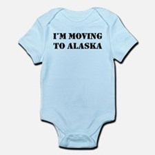Moving to Alaska Infant Bodysuit