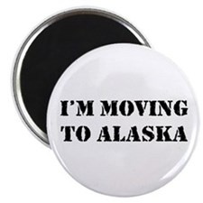 Moving to Alaska Magnet