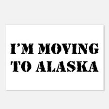 Moving to Alaska Postcards (Package of 8)