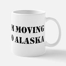 Moving to Alaska Mug