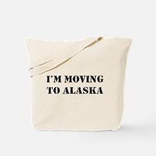 Moving to Alaska Tote Bag