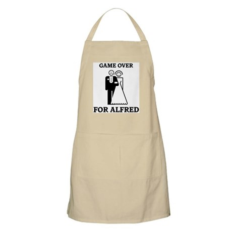 Game over for Alfred BBQ Apron