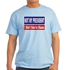 Anti Obama Not My President T-Shirt