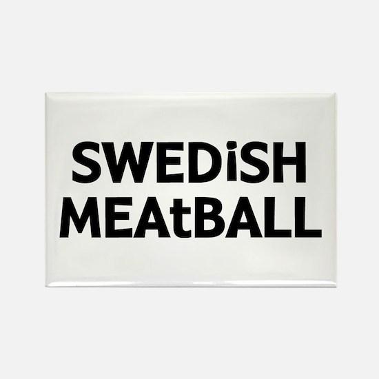 Swedish Meatball Rectangle Magnet